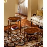 Chippendale kisasztal fa felülettel