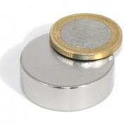 Magnet neodim disc, diametru 30 mm, putere 20 kg