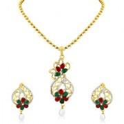 Sukkhi Amazing Gold Plated Pendant Set For Women