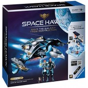 "Ravensburger Space Hawk Starter Set Includes Spacehip & Expansion ""Dawn Of The Dark Heart"""