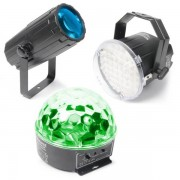Tronios BV BeamZ Light Package 1. Moon,Strobe, Star