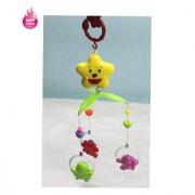 Little Grin Windup Sweet Cuddle Cot Cradle Musical Rattle 6 Pc Set For Infants Toddler New Born Gift Set Toy(Color May V