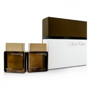 Euphoria Intense Coffret: Eau De Toilette Spray 100ml/3.4oz + After Shave 100ml/3.4oz 2pcs Euphoria Intense Set: Apă de Toaletă Spray 100ml/3.4oz + Loţiune După Ras 100ml/3.4oz