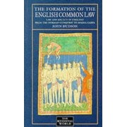 The Formation of English Common Law by John Hudson