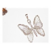 Pendentif Papillon Argent