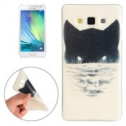 For Samsung Galaxy A3 / A300F Abstract Wolf Head Pattern TPU Protective Case