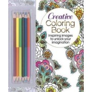The Creative Coloring Book (Book & Colored Pencils Set) by Arcturus Publishing