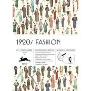 PEPIN PRESS 1920s Fashion, Vol. 10 : Grandes feuilles de papier cadeau de haute qualité