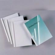 > 50 CARTELLINE TERMICHE 35MM SILK WHITE 150MIC (unit