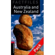 Oxford Bookworms Library Factfiles: Level 3:: Australia and New Zealand audio CD pack by Christine Lindop