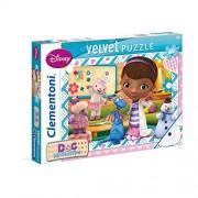 Clementoni - 20116.7 - Puzzle en Velours - 60 Pièces - Docteur La Peluche