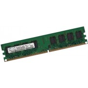 SAMSUNG 1 GB 240 pin DDR2-800 spartronic (800 mhz, PC2-6400U, CL6) NON ECC, Senza buffer (M378T2953QZS - CF7) per DDR2 main boards