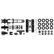 Herpa 084.345 - Telaio Mercedes-Benz Actros SLT 4 assi trattore pesanti