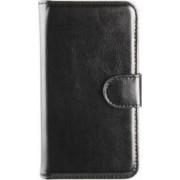 Husa Xqisit Wallet Case Eman pentru Samsung Galaxy S5 G920 Negru