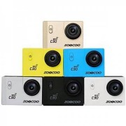 SOOCOO C30 WiFi 2K Actionkamera 12.4MP - Gul