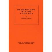 Discrete Series of GLn Over a Finite Field by George Lusztig