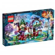 LEGO® Elves Ascunzişul din copac al elfilor 41075