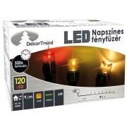 Napszínes kültéri 240 LED-es fényfüzér 19,2 m KDM 241