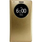 Husa Flip S-View OEM Activa LG G4 Auriu