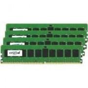 Crucial CT4K8G4RFD824A Memoria RAM da 8 GB, DDR4, 2400 MHz, ECC R, Kit 4 Pezzi, Blu