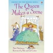 The Queen Makes a Scene by Mairi Mackinnon
