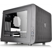Thermaltake, Core V21 Matx Mesh Stackable Case with 200 mm Blue LED Fan