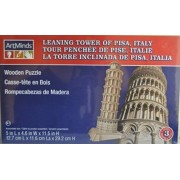 Art Mind Wood Puzzle ~ Leaning Tower of Pisa, Italy