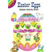 Easter Eggs Sticker Activity Book by Cathy Beylon