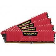 CORSAIR-Vengeance LPX - 16 Go (4 x 4 Go) DDR4-2666 - PC4-21300 - CL15 - Mémoire PC (CMK16GX4M4A2666C15R)-