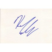 Kevin Connolly Autographed Index Card