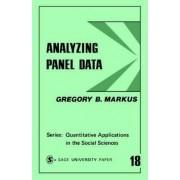 Analyzing Panel Data by Gregory B. Markus