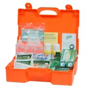 Valigetta Pronto soccorso 3 persone Pharma Shield - plastica - 46x34,5x14,5 cm - DM388 - 10019
