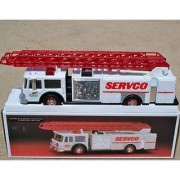 1990 SERVCO GAS STATION FIRE ENGINE TRUCK - MINT in BOX