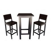 Masa bar Nora si 2 scaune bar Lyron