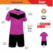 Givova - Completo Kit Calcio Vittoria Fluo