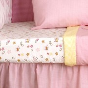 Kids Line In the Woods Fitted Sheet