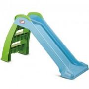 Малка сгъваема пързалка - First Slide Blue/Green - Little Tikes, 320127