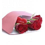 3 trandafiri, Scrisoare