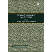 The Ashgate Handbook of Legal Translation