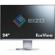 "Monitor IPS LED Eizo 24.1"" EV2455-GY, Full HD, HDMI, VGA, 5ms, DisplayPort, Boxe (Argintiu)"