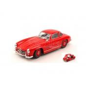 Welly WE24064R MERCEDES 300 SL 1954 RED 1:24 Modellino