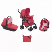 Chicco 07079366640000 Trio Sprint With Kit Car, Red Passion