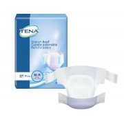 Adult Incontinent Brief TENA Stretch Plus Tab Closure Medium Disposable Moderate Absorbency Qty 72