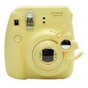 [Fujifilm Instax Mini 7s Mini 8 Selfie Lens] -- CAIUL IOU Style Instax Close Up Lens with Self-portrait Mirror For Fujifilm Instax Mini 8 mini 7s Camera and Polaroid 300 (Yellow)