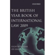 British Year Book of International Law 2009: Volume 80 by James Crawford