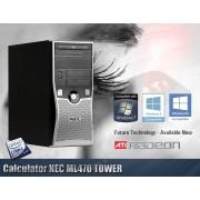 Calculator NEC ML470 TOWER Procesor Q6600 4GB RAM Hard Disk 160 GB Placa Video 1 GB