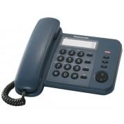 Telefon Analogic cu Fir Panasonic KX-TS520FXC cu Memorie Albastru