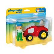 Playmobil 1.2.3 - Playset tractor (6794)