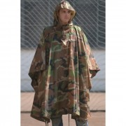 MFH Pelerina Militara US Poncho Woodland 08524T
