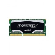 Ballistix Sport 4GB Single DDR3 1600 MT/s (PC3-12800) SODIMM 204-Pin Memory - BLS4G3N169ES4CEU